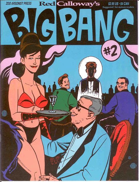 有关以下物品的详细资料: big bang (1995 zoo arsonist press) 2 f