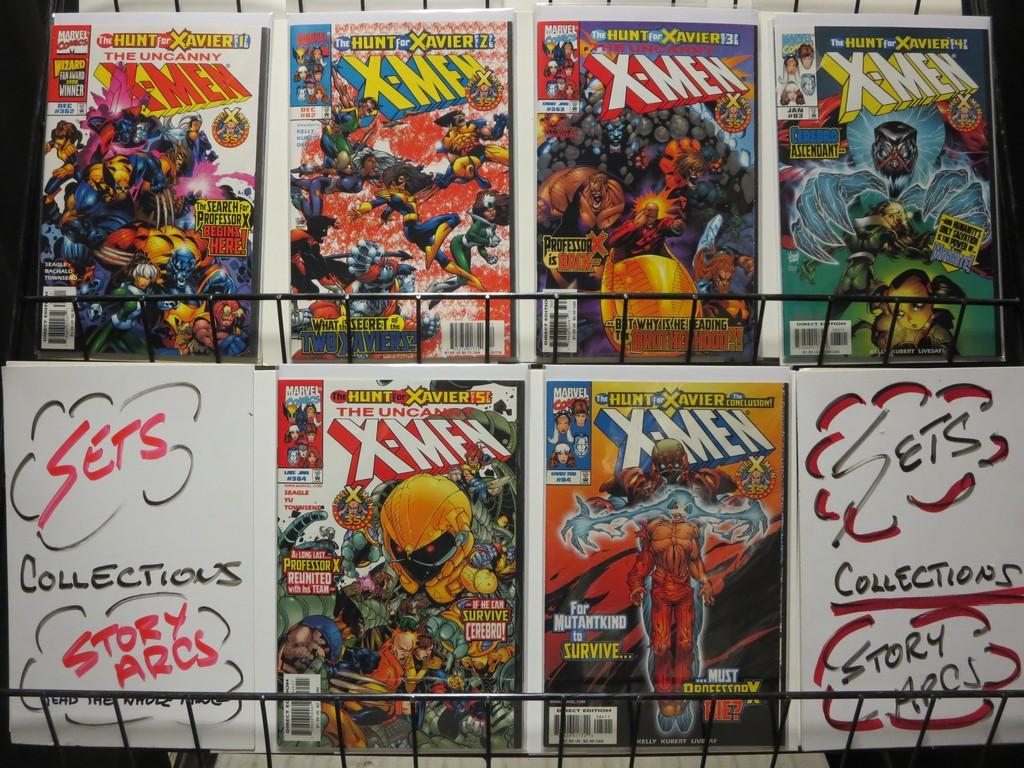 X MEN HUNT FOR XAVIER 6-Part Xover | eBay
